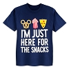 Disney Child Shirt - I'm Just Here For The Snacks