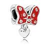 Disney PANDORA Charm - Minnie Mouse Pave Bow