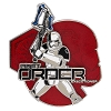 Disney Star Wars Pin - The Last Jedi - First Order Executioner