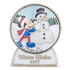 Disney Winter Pin - 2017 Winter Wishes - Mickey