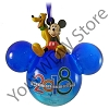 Disney Ornament - Disney World 2018 Logo Mickey Mouse and Pluto