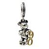 Disney PANDORA Charm - Mickey Mouse Dangle - 90th Anniversary