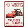 Disney Door Sign - Cars - No Parking - Tow Mater Zone