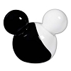 Disney Salt and Pepper Shakers - Mickey Mouse Ears Ying Yang