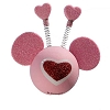 Disney Antenna Topper - Valentines Day Heart Mickey Mouse Ears