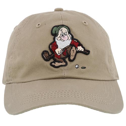 Disney Baseball Cap Golfing Grumpy Dwarf