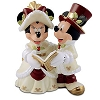 Disney Cake Topper - Porcelain Figure - Victorian Mickey Wedding