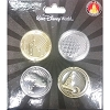 Disney World Coins Set - 4 Parks Magic Kingdom EPCOT Sorcerer Hat