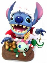 Your Wdw Store Disney Big Figure Statue Santa Stitch
