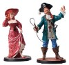Disney Classics Collection - Auctioneer and Redhead - Statues Figures