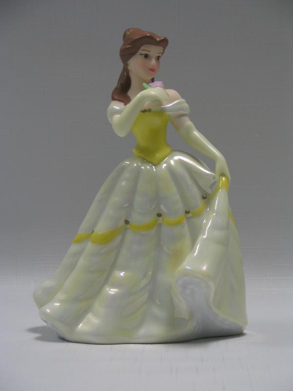 Disney Cake Topper Porcelain Figure Beauty Belle