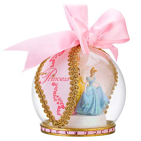 Your WDW Store  Disney Christmas Ornament  Glass Ball Disney