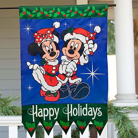 mickey and minnie mouse outdoor christmas decoration