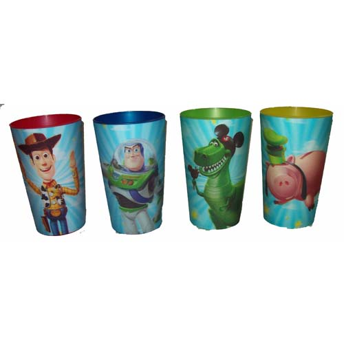 Your WDW Store - Disney Plastic Cups - Pixar's Toy Story - Lenticular