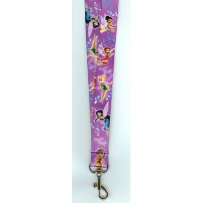Your Wdw Store Disney Lanyard Tinker Bell Fairies Purple