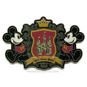 your wdw store disney jumbo pin classic 1971 logo
