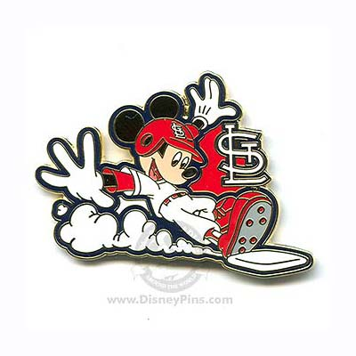 Walmart Stock Phone Number >> Disney Mickey Mouse Pin - Baseball Player - St. Louis ...