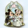 Disney Mickey & Minnie Pin - Wedding