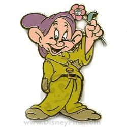 Your WDW Store - Disney Dwarf Flower Pin - Dopey