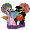 Disney Jumbo Pin - Mouse Ears - Figment and Dreamfinder