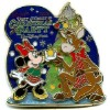 Disney Very Merry Christmas Party 2006 Pin - Minnie and Reindeer