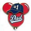 Disney Father's Day Pin - Mickey Balloon
