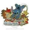 Disney First Day of Autumn Pin - 2007 - Stitch