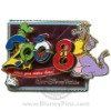 Disney White Glove Pin - Wish You Were Here 2008 - Figment