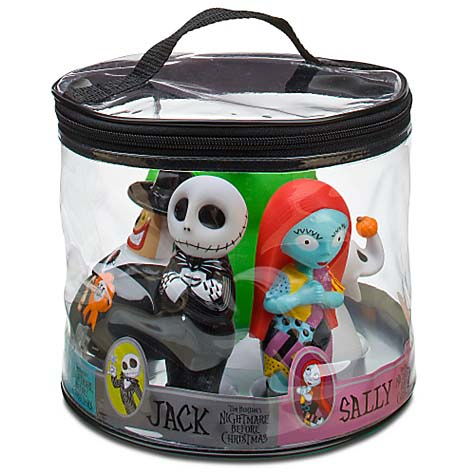 Your WDW Store - Disney Bath Toy Set - Nightmare Before Christmas