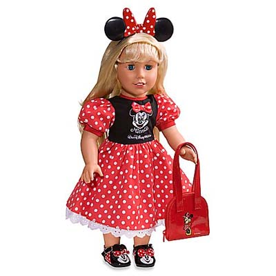 Your Wdw Store My Disney Girl Doll Costume Minnie Mouse