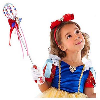 Disney Costume Princess Gloves And Purse Set Snow White