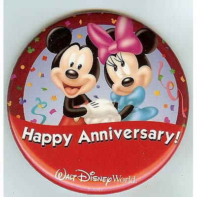 Your WDW Store - Disney Souvenir Button - Mickey and ...