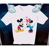 Disney Adult Shirt - Mickey and Minnie Mouse - Hearts