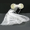 Disney Hat - Minnie Wedding Bridal Veil - Sequin Mickey Mouse Ears