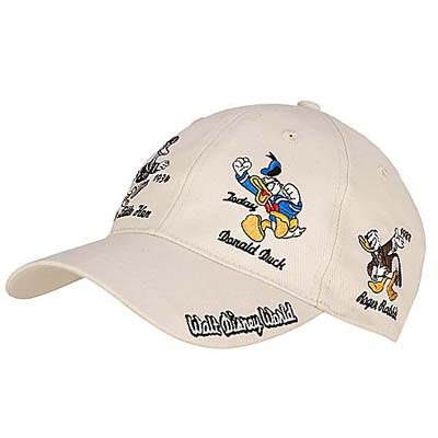 hat baseball cap duck years disney with ears personalized hats vintage caps