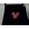 Disney Swarovski Pin - Mickey Icon - Red