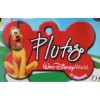 Disney Engraved ID Tag - Pluto - Red