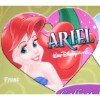 Disney Engraved ID Tag - Ariel