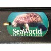 Sea World Engraved ID Tag - Manatee