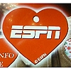 Disney Engraved ID Tag - ESPN Heart