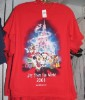 Disney Adult Shirt - Christmas 2008 - Joy From The World