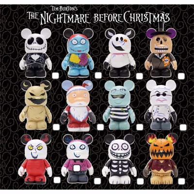 ... Store - Disney Vinylmation Figure - Mickey Nightmare Before Christmas
