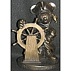 Disney Bronze Sculpture Statue - Mickey at the Helm Pirates Caribbean