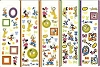 Disney Stickers 5 Strips - Mickey And Friends