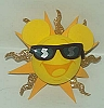 Disney Antenna Topper - Cool Sun with Shades