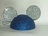 Disney Antenna Topper - Mickey Ears Hat - Blue and Silver