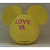 Disney Antenna Topper - Mickey Mouse Ears Valentines - Love Ya