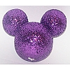 Disney Antenna Topper - Mickey Mouse Ears Icon Purple Glitter
