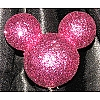 Disney Antenna Topper - Mickey Mouse Ears Icon Pink Glitter