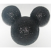 Disney Antenna Topper - Mickey Mouse Ears Icon Black Glitter